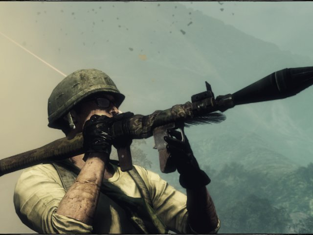 Перейти к просмотру комментариев ВКонтакте. Скриншот из игры Battlefield: Bad